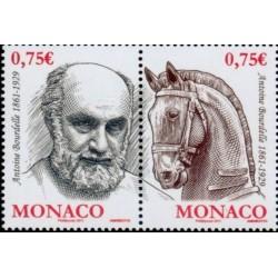 Timbre Monaco n°2769 et 2770