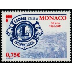 Timbre Monaco n°2777
