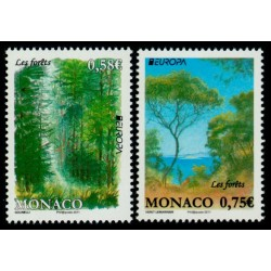 Timbre Monaco n°2782 et 2783