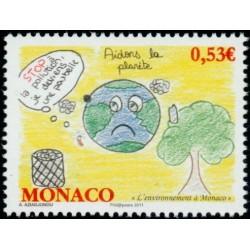 Timbre Monaco n°2784