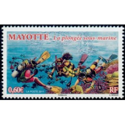 Timbre Mayotte n°255