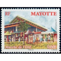 Timbre Mayotte n°256