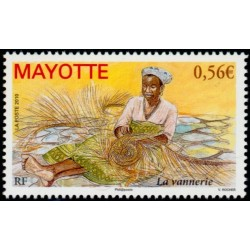 Timbre Mayotte n°233