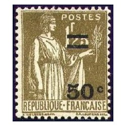 Timbre France N°298 type...