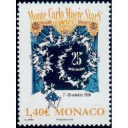 Timbre Monaco n°2751