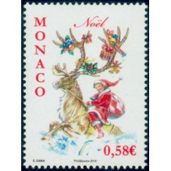 Timbre Monaco n°2755