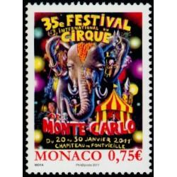 Timbre Monaco n°2756