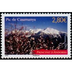 Timbre Andorre Français n°689