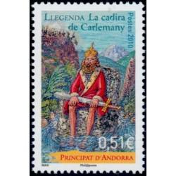 Timbre Andorre Français n°693