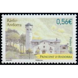Timbre Andorre Français n°695