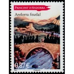 Timbre Andorre Français n°702