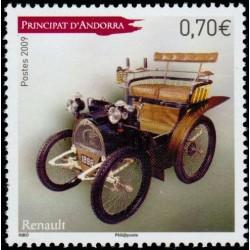 Timbre Andorre Français n°674