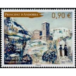 Timbre Andorre Français n°675