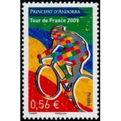 Timbre Andorre Français n°677