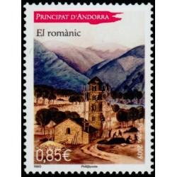 Timbre Andorre Français n°679