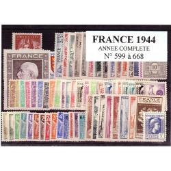 France 1944 année complète
