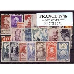 France 1946 année complète