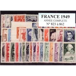 France 1949 année complète