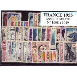 France 1955 année complète