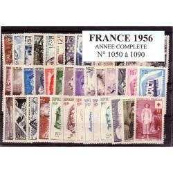 France 1956 année complète
