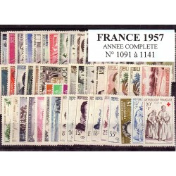 France 1957 année complète