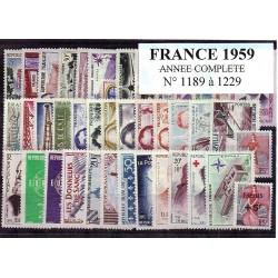 France 1959 année complète