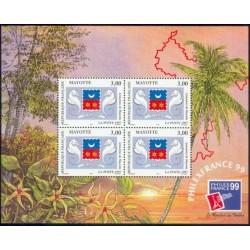 Mayotte Bloc Feuillet n°1