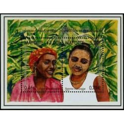 Mayotte Bloc Feuillet n°3