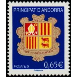 Timbre Andorre Français n°651