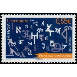 Timbre Andorre Français n°655