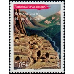 Timbre Andorre Français n°664