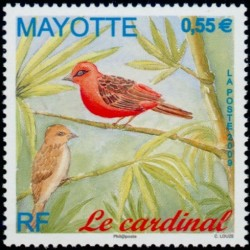 Timbre Mayotte n°221