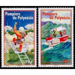 Timbre Polynésie n°863 et 864