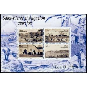 Saint-Pierre et Miquelon Bloc Feuillet n°16