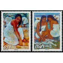 Timbre Polynésie n°829 et 830