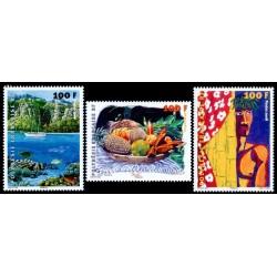 Timbre Polynésie n°831 à 833