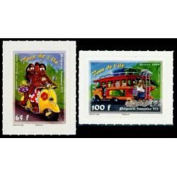 Timbre Polynésie n°835 et 836