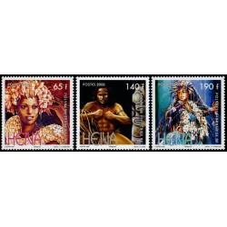 Timbre Polynésie n°837 à 839