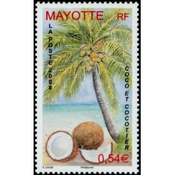 Timbre Mayotte n°209