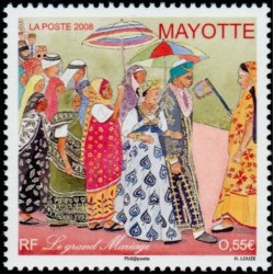 Timbre Mayotte n°215