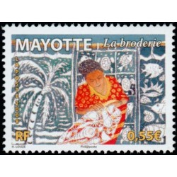 Timbre Mayotte n°218