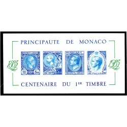 Monaco Bloc Feuillet non...