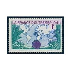 Timbre France N°503 Pour la...