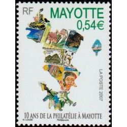 Timbre Mayotte n°194
