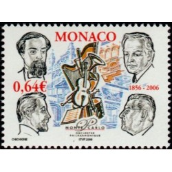 Timbre Monaco n°2536