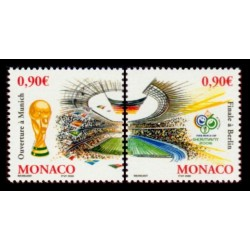 Timbre Monaco n°2539 et 2540
