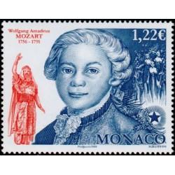 Timbre Monaco n°2548