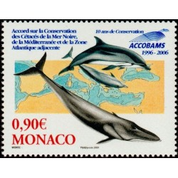 Timbre Monaco n°2554