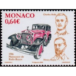 Timbre Monaco n°2556