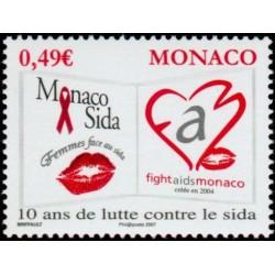 Timbre Monaco n°2570